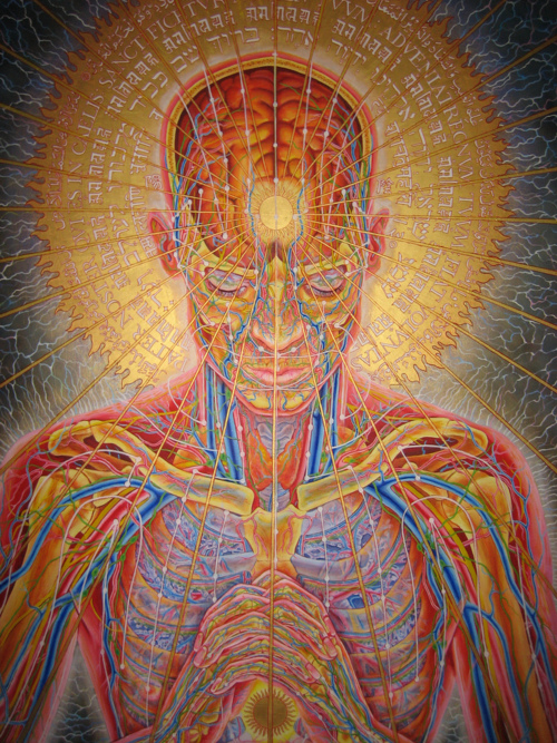 Alex Grey Praying Picture